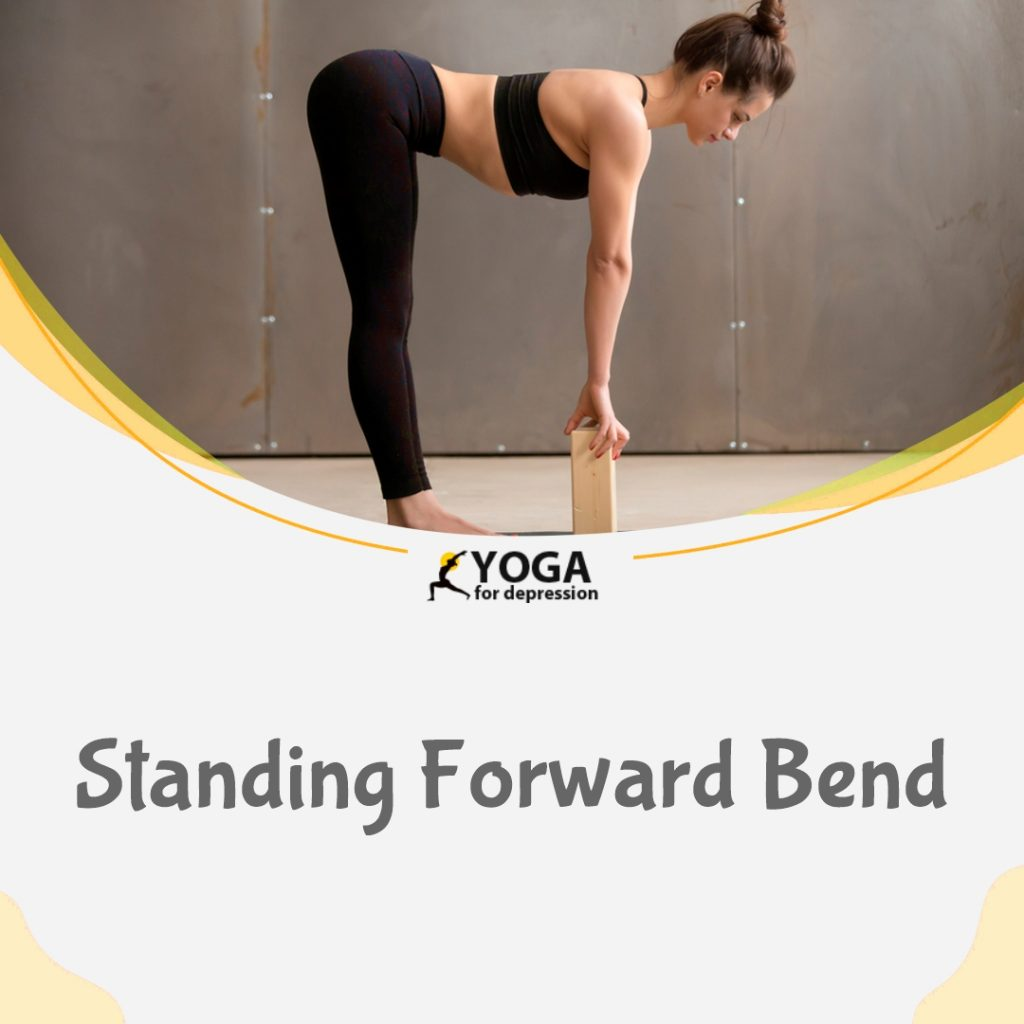 standing forward pose